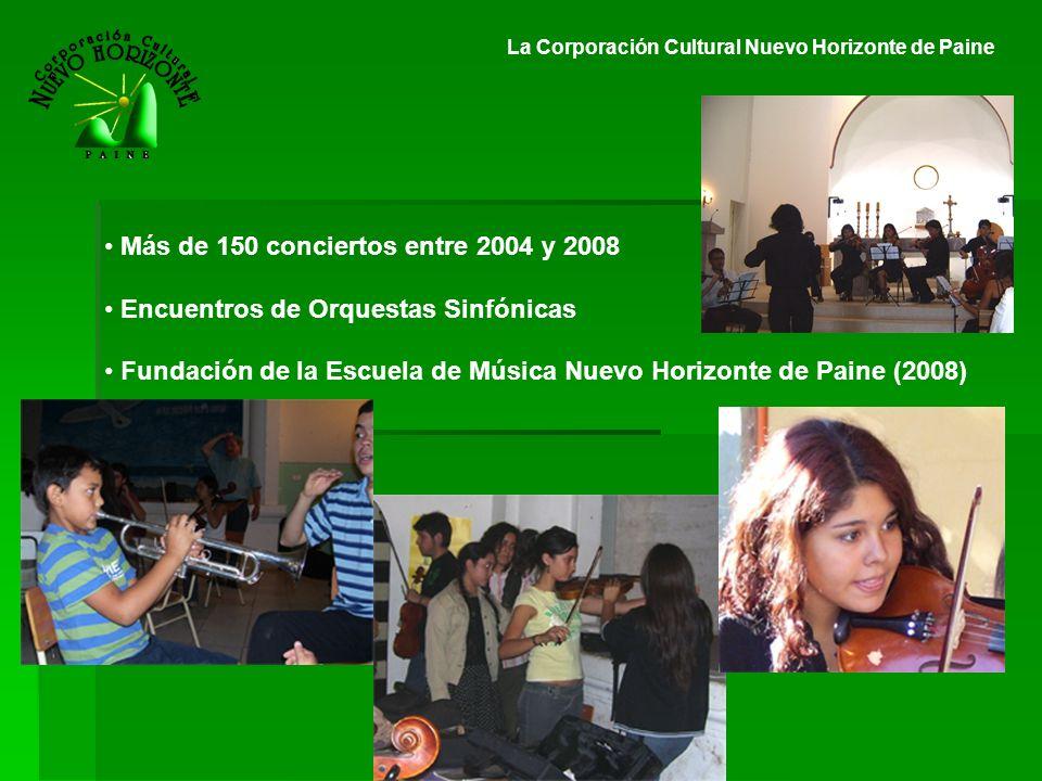 Más de 150 conciertos entre 2004 y 2008
