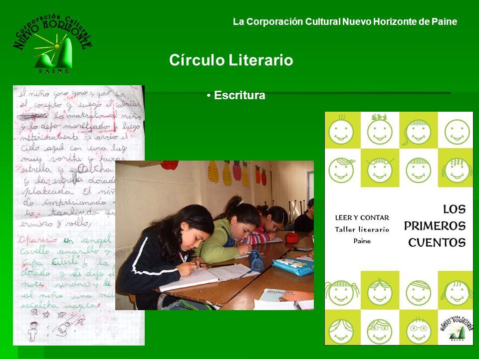 Círculo Literario Escritura
