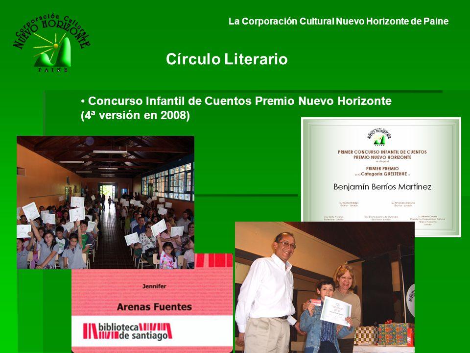 Círculo Literario Concurso Infantil de Cuentos Premio Nuevo Horizonte