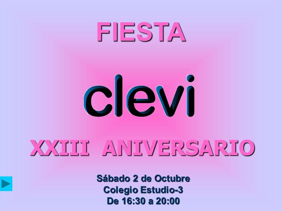 FIESTA XXIII ANIVERSARIO Sábado 2 de Octubre Colegio Estudio-3