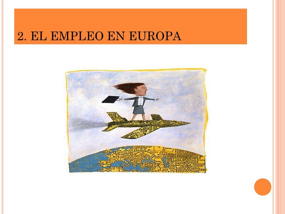 2. EL EMPLEO EN EUROPA