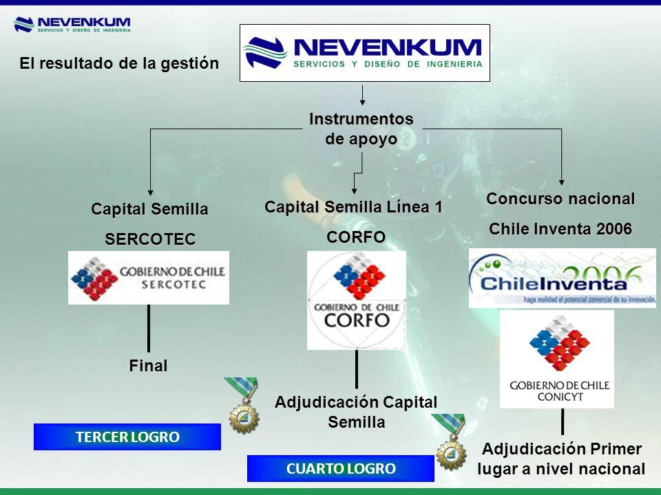 Adjudicación Capital Semilla
