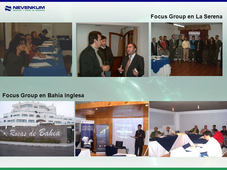 Focus Group en La Serena