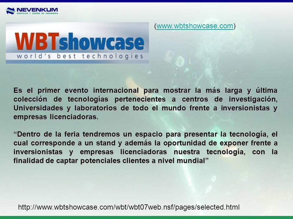 (www.wbtshowcase.com)