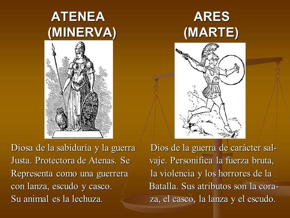 ATENEA ARES (MINERVA) (MARTE)
