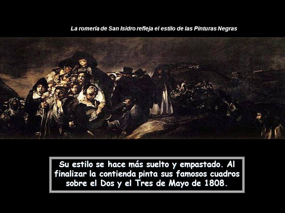La romería de San Isidro refleja el estilo de las Pinturas Negras
