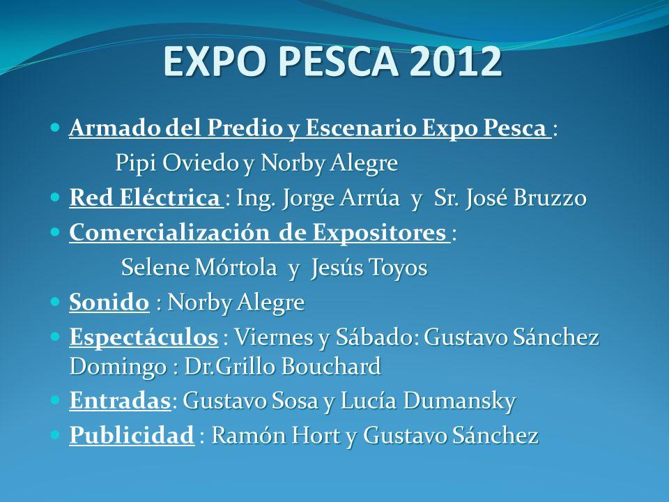 EXPO PESCA 2012 Armado del Predio y Escenario Expo Pesca :