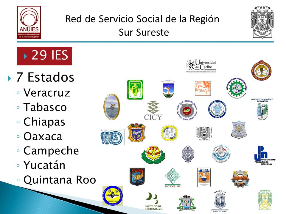 Red de Servicio Social de la Región
