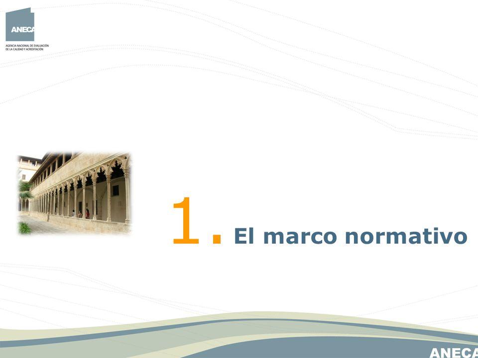 1. El marco normativo 3