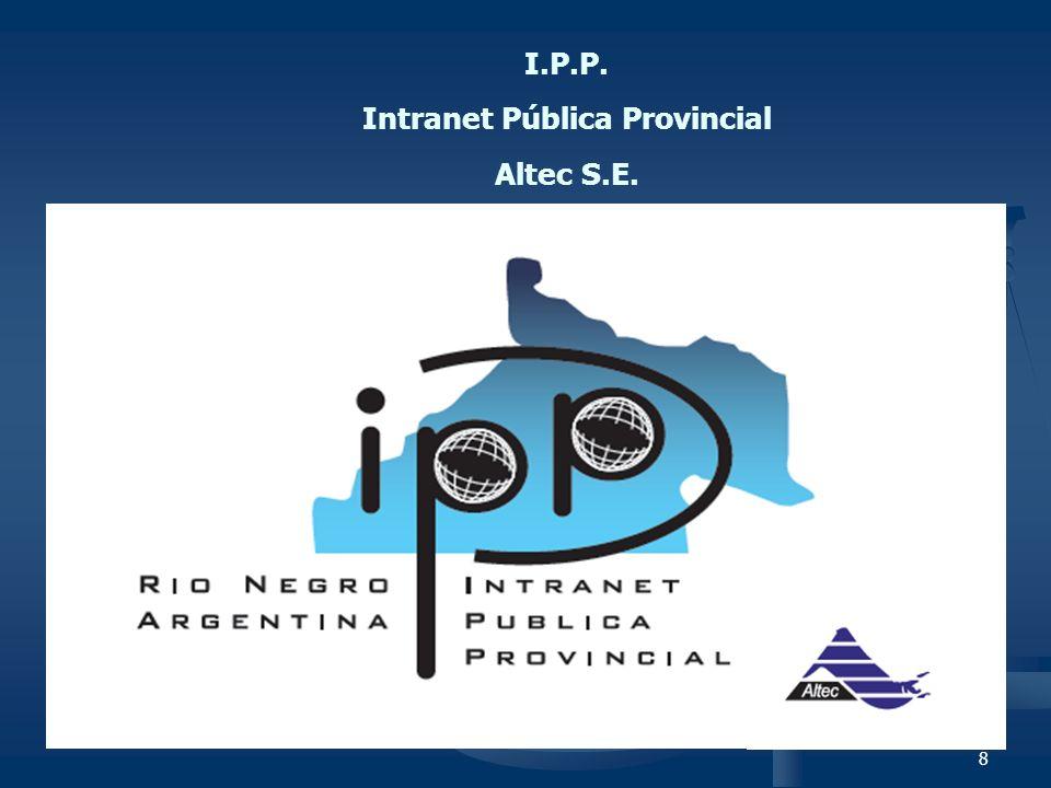 Intranet Pública Provincial