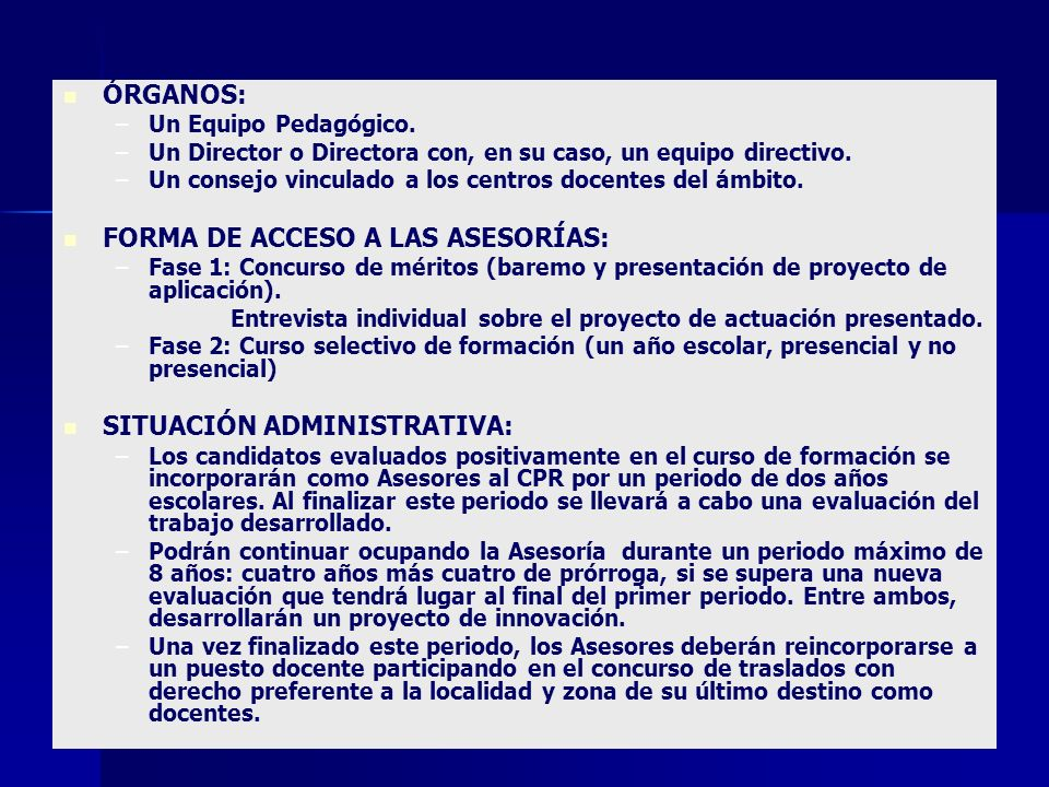 FORMA DE ACCESO A LAS ASESORÍAS: