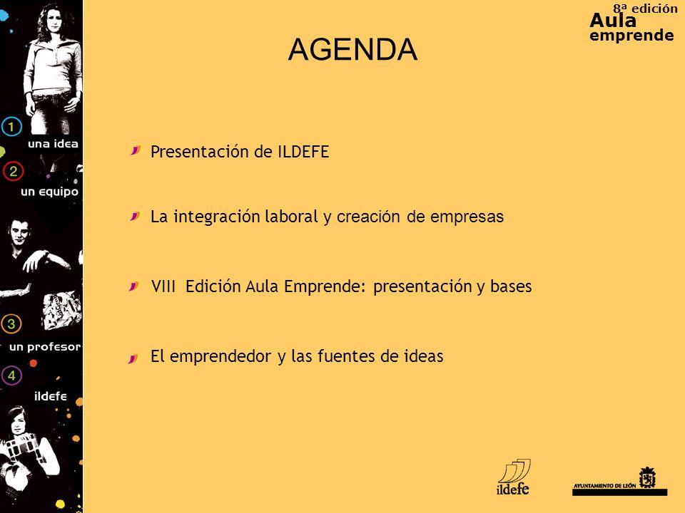 AGENDA Aula Presentación de ILDEFE