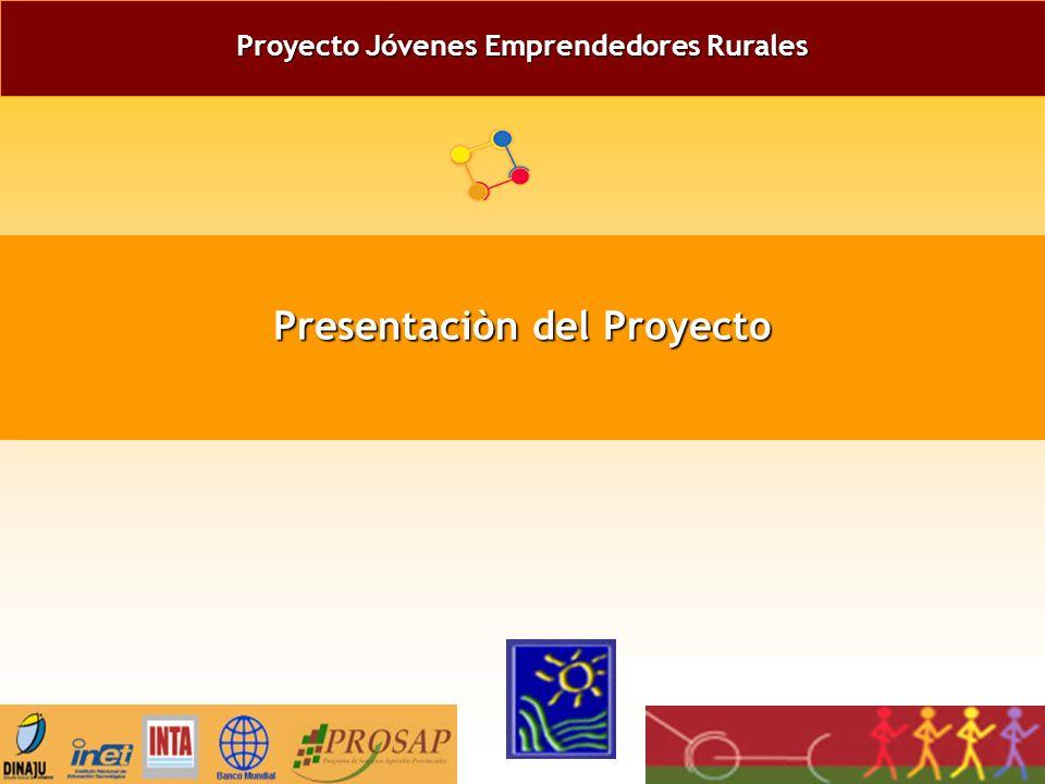 Proyecto Jóvenes Emprendedores Rurales Presentaciòn del Proyecto