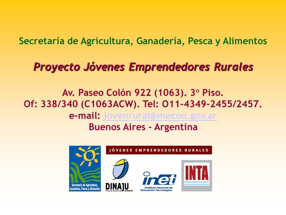 Proyecto Jóvenes Emprendedores Rurales