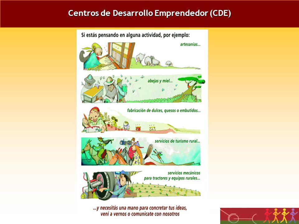 Centros de Desarrollo Emprendedor (CDE)