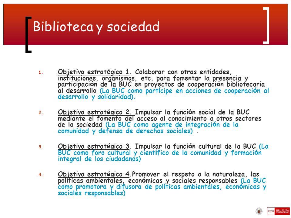 Biblioteca y sociedad