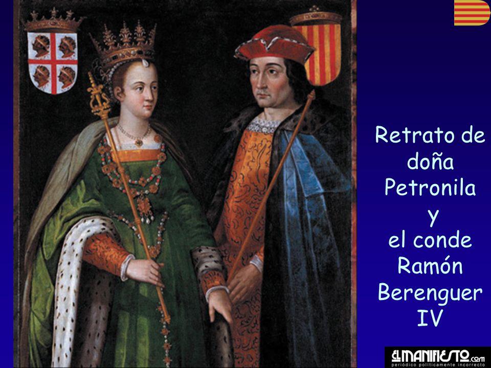 Retrato de doña Petronila y el conde Ramón Berenguer IV