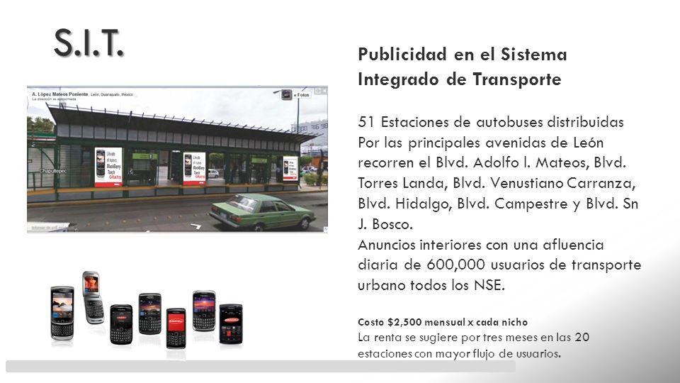 S.I.T. Publicidad en el Sistema Integrado de Transporte