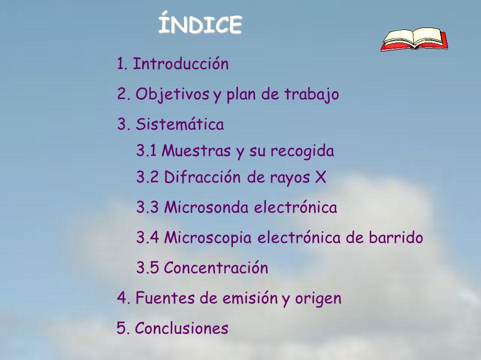 ÍNDICE 1. Introducción 2. Objetivos y plan de trabajo 3. Sistemática