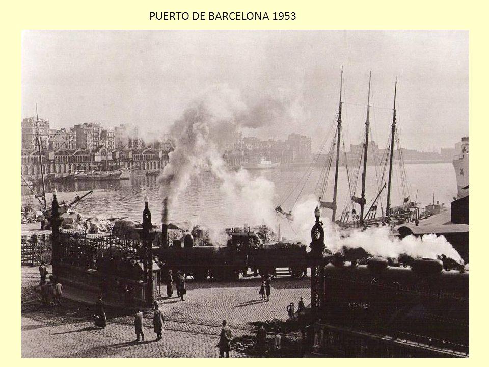 PUERTO DE BARCELONA 1953