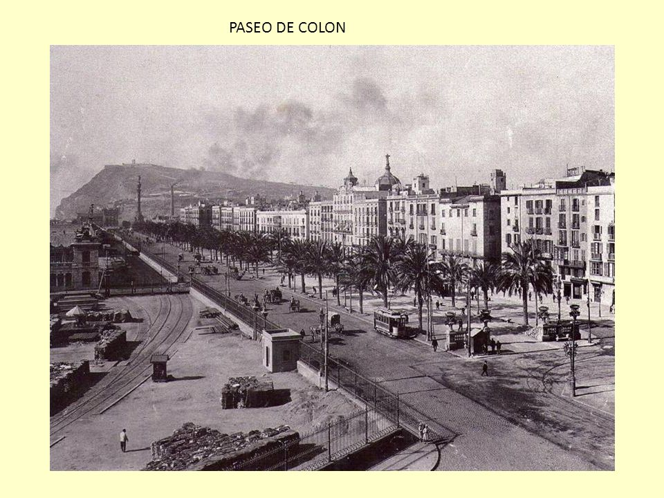 PASEO DE COLON