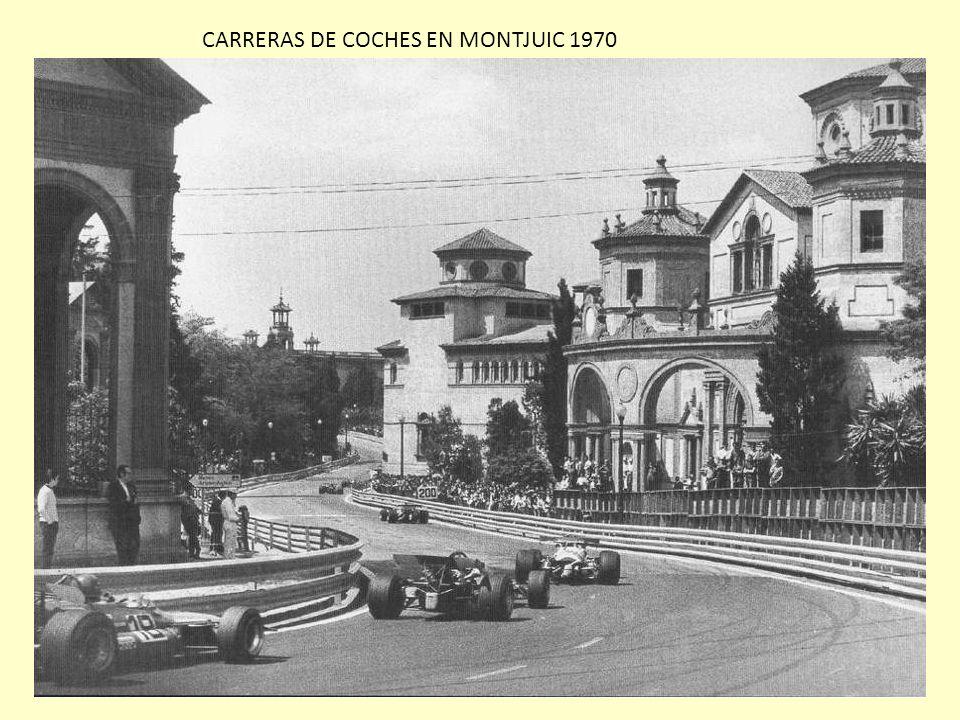 CARRERAS DE COCHES EN MONTJUIC 1970