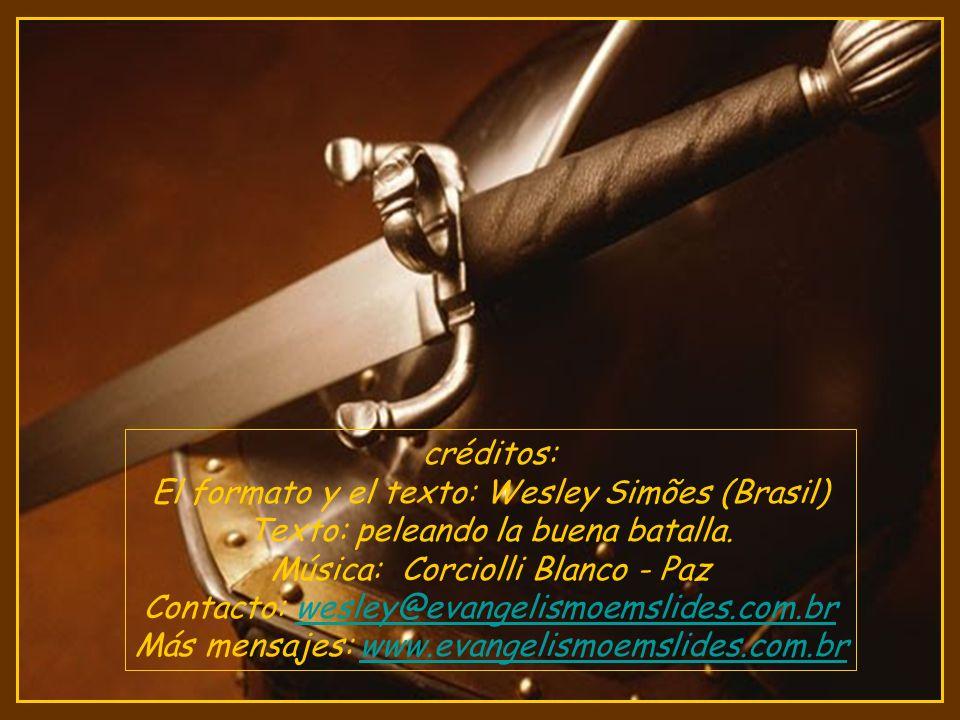 El formato y el texto: Wesley Simões (Brasil)