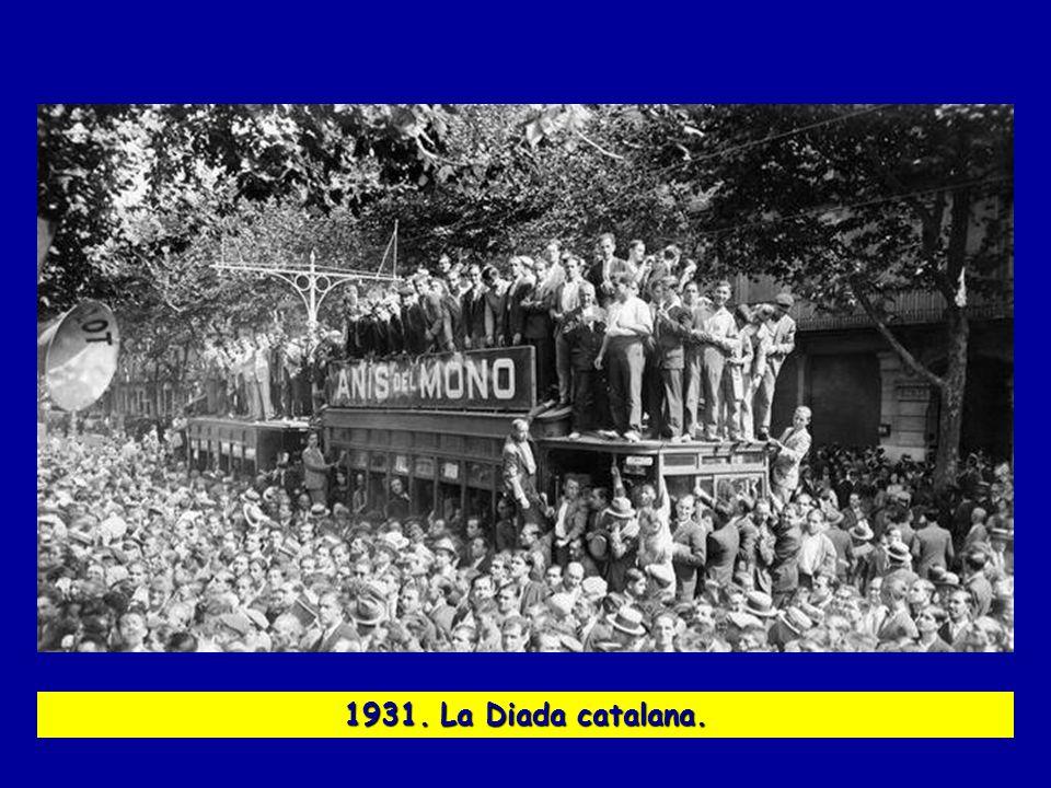 1931. La Diada catalana.
