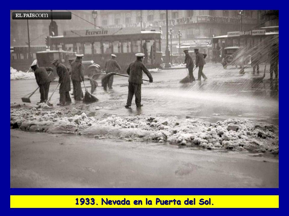1933. Nevada en la Puerta del Sol.