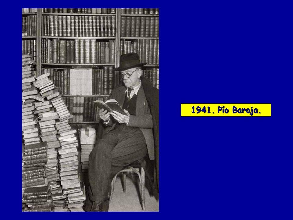 1941. Pío Baroja.
