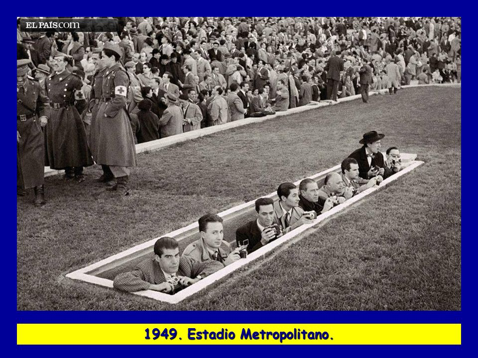 1949. Estadio Metropolitano.
