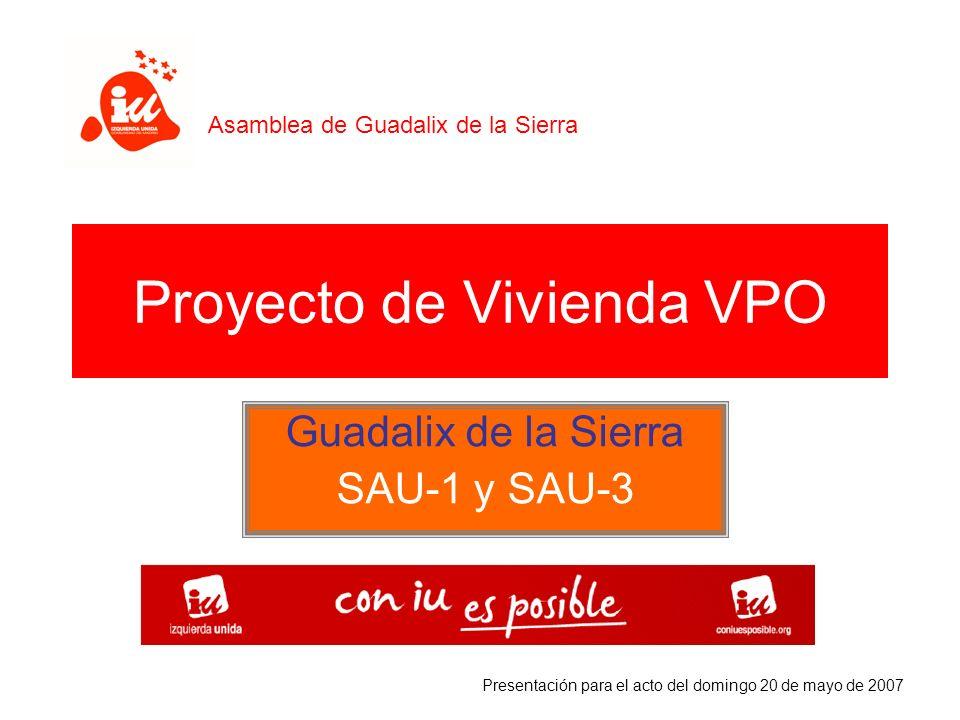 Proyecto de Vivienda VPO