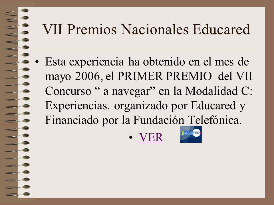 VII Premios Nacionales Educared