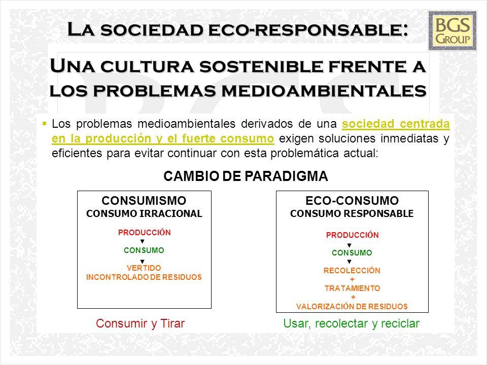 La sociedad eco-responsable: