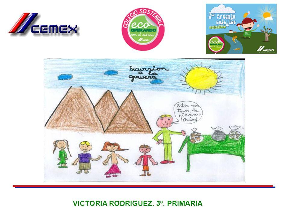 VICTORIA RODRIGUEZ. 3º. PRIMARIA