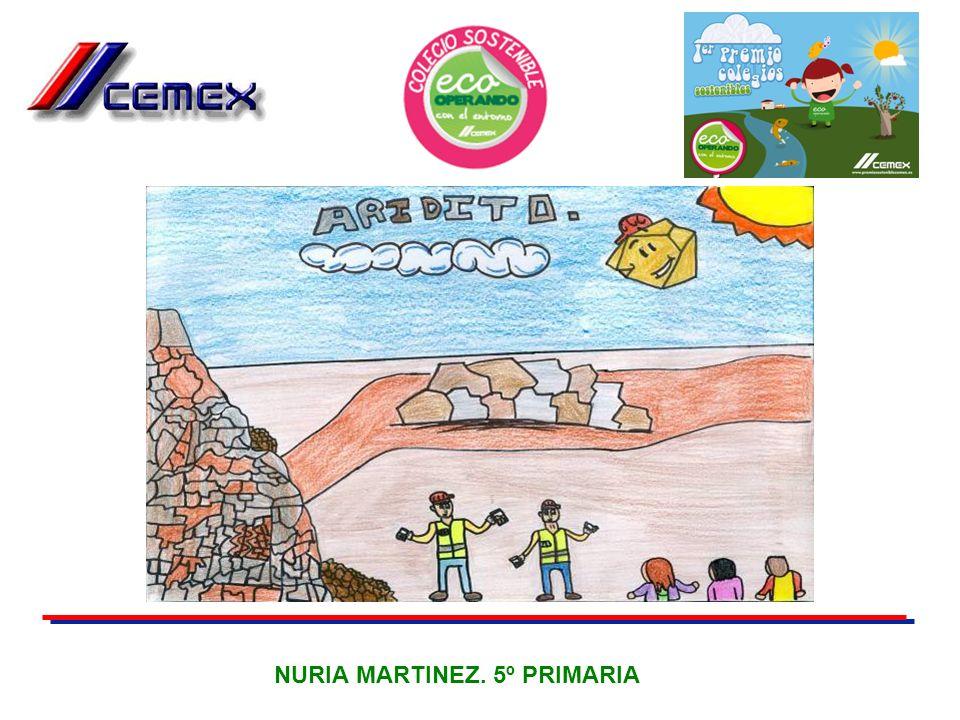 NURIA MARTINEZ. 5º PRIMARIA