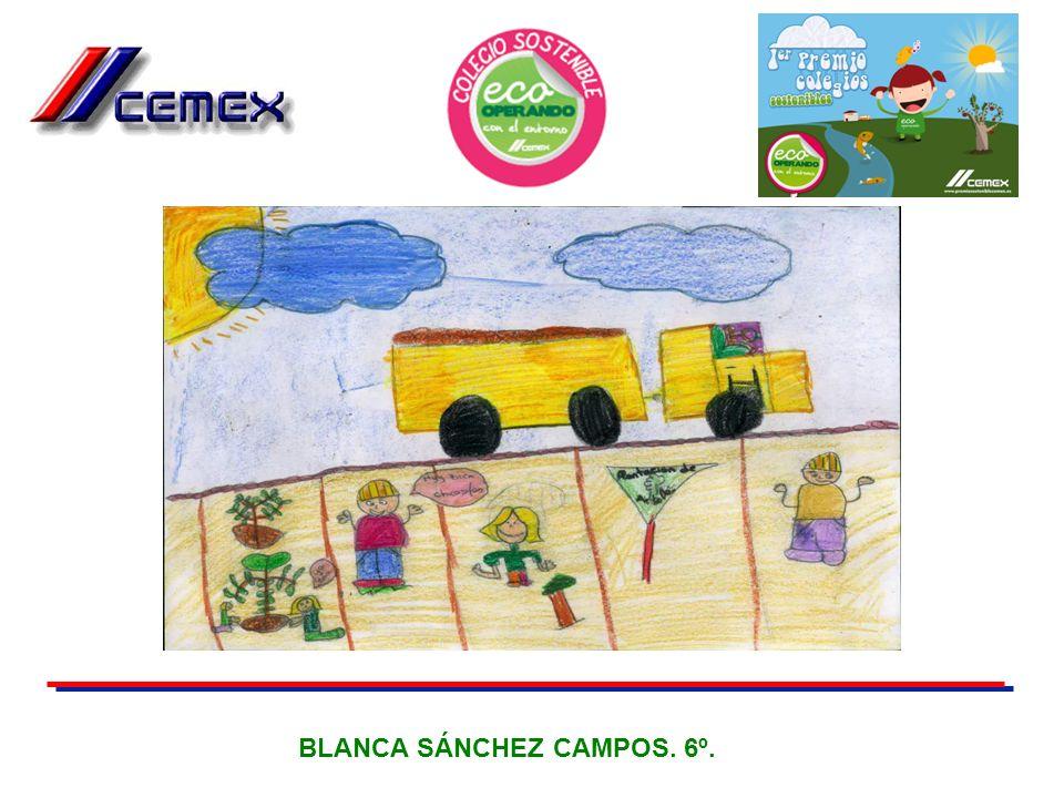 BLANCA SÁNCHEZ CAMPOS. 6º.