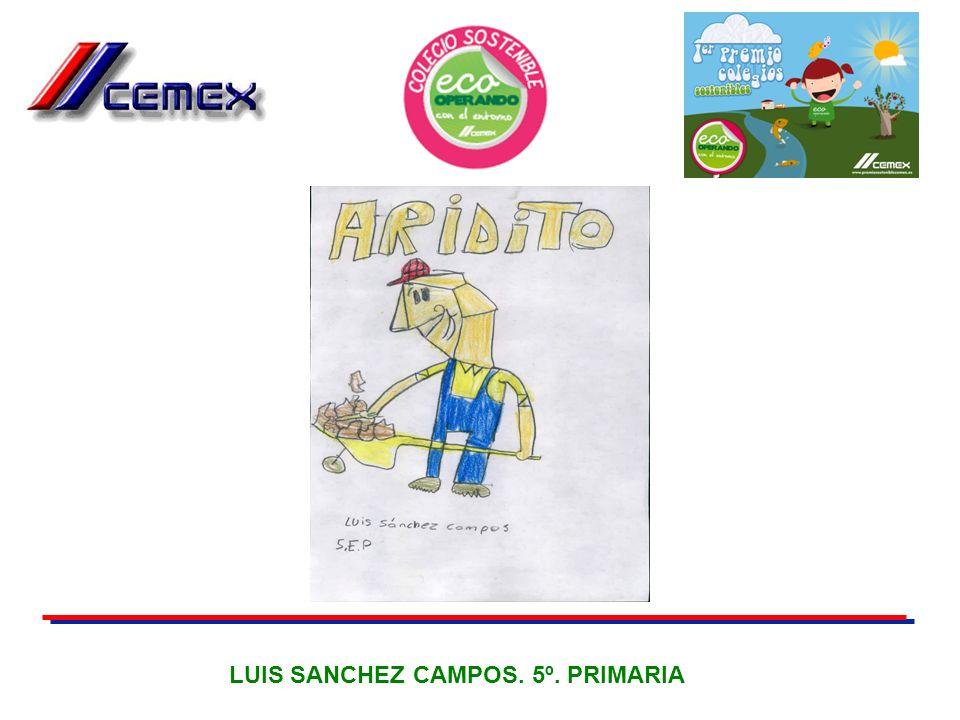 LUIS SANCHEZ CAMPOS. 5º. PRIMARIA