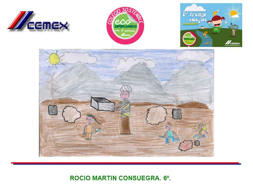 ROCIO MARTIN CONSUEGRA. 6º.