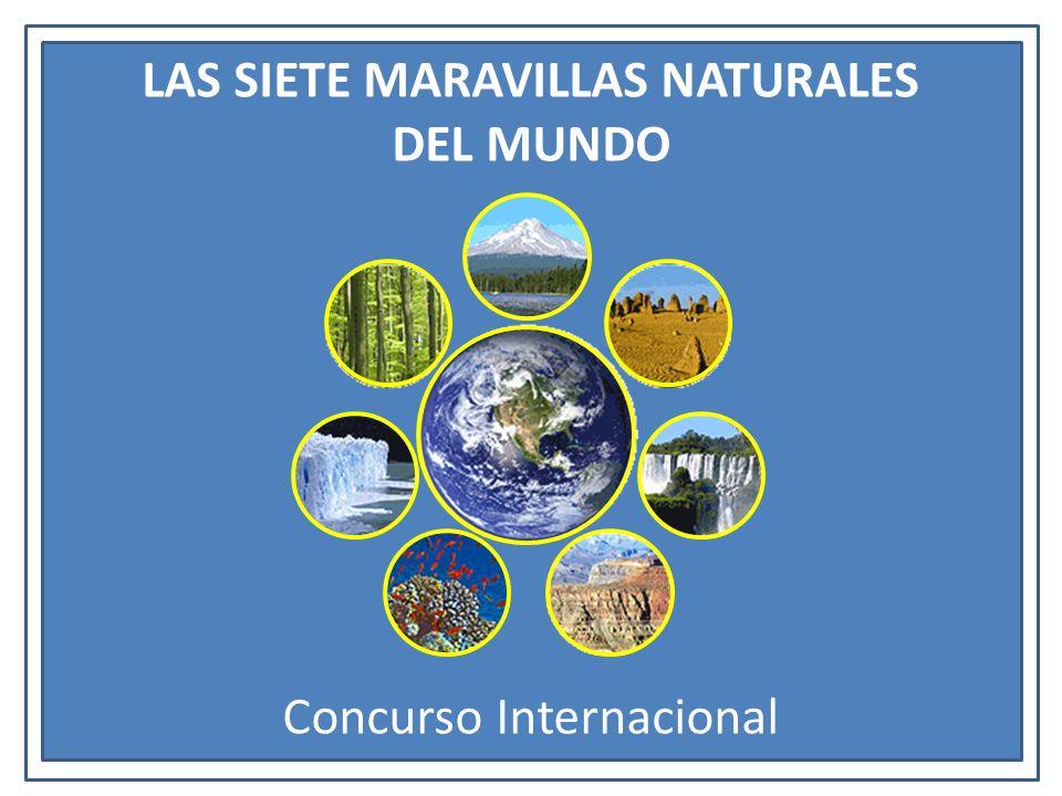 LAS SIETE MARAVILLAS NATURALES DEL MUNDO