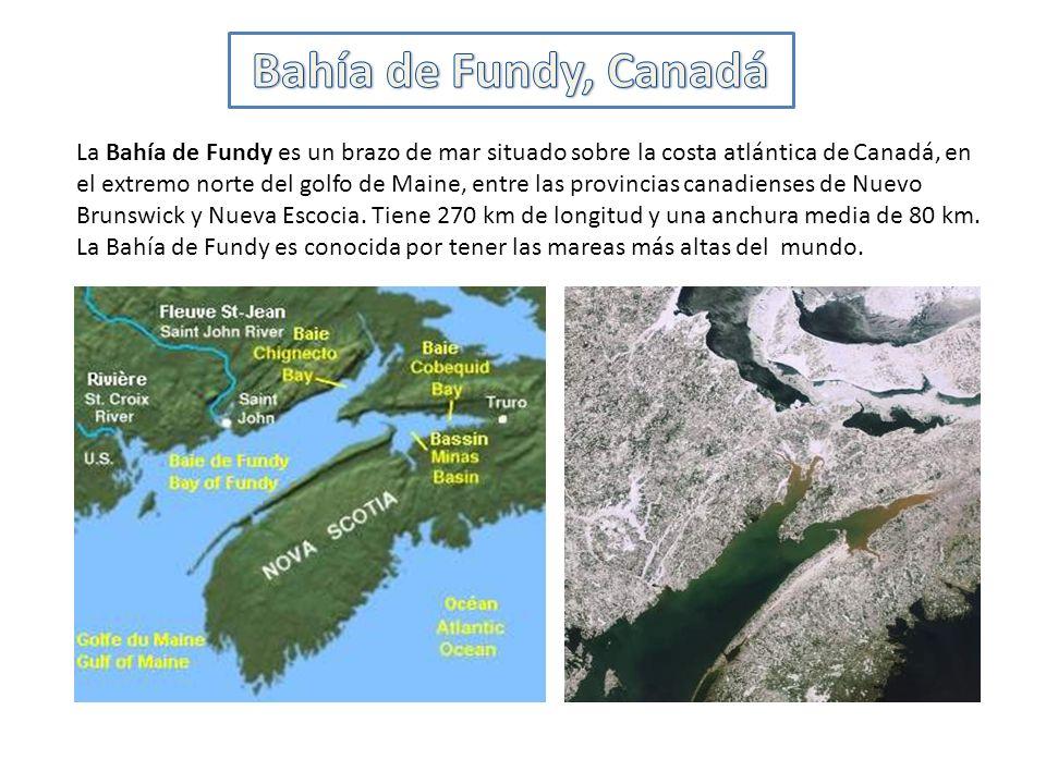 Bahía de Fundy, Canadá