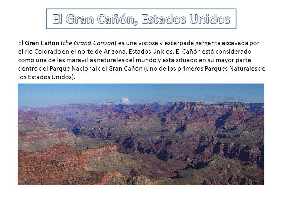 El Gran Cañón, Estados Unidos