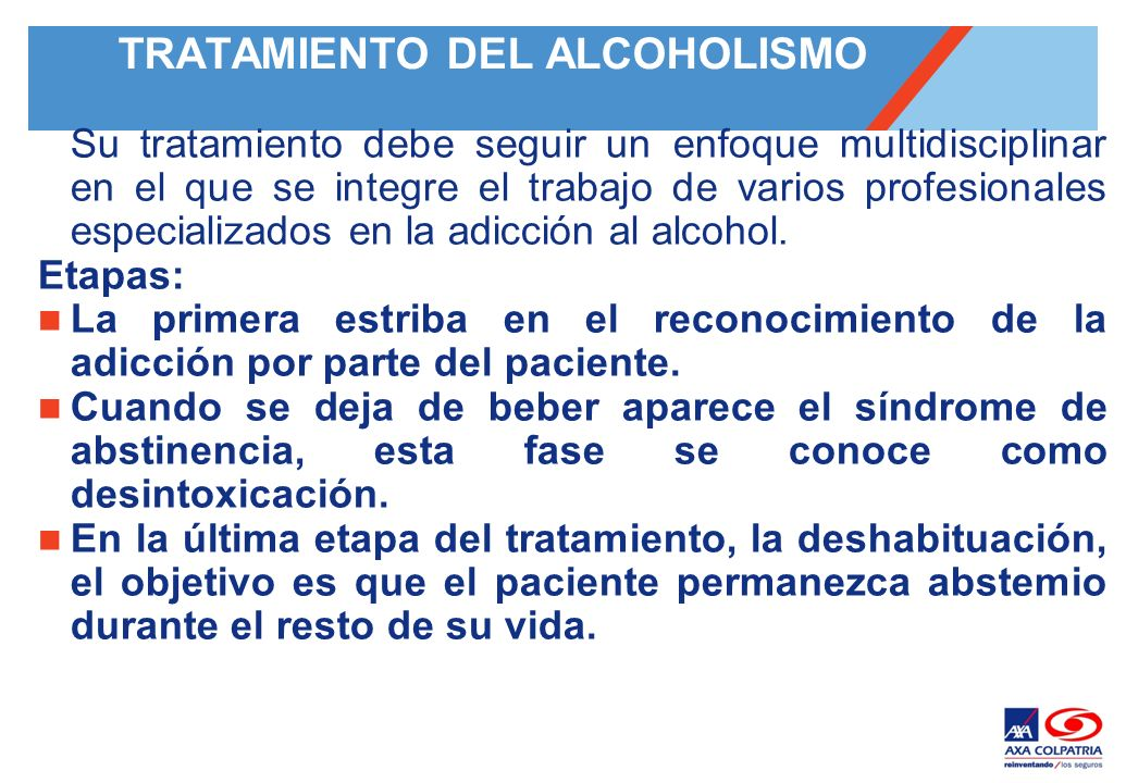 Si los tests son inclinados usted al alcoholismo