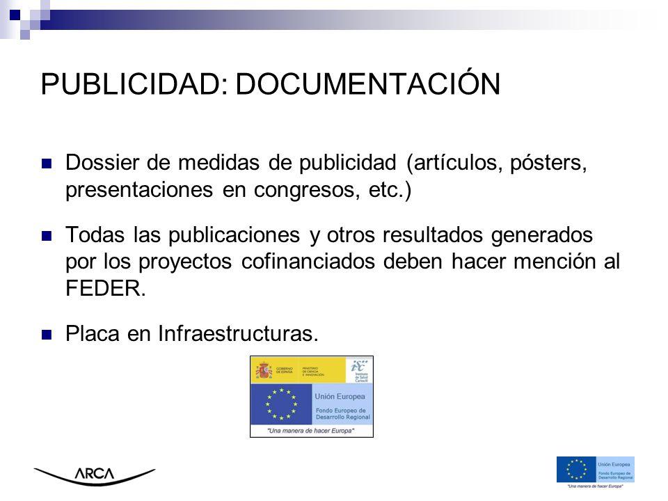 PUBLICIDAD: DOCUMENTACIÓN
