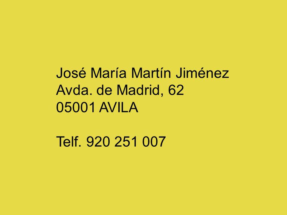 José María Martín Jiménez