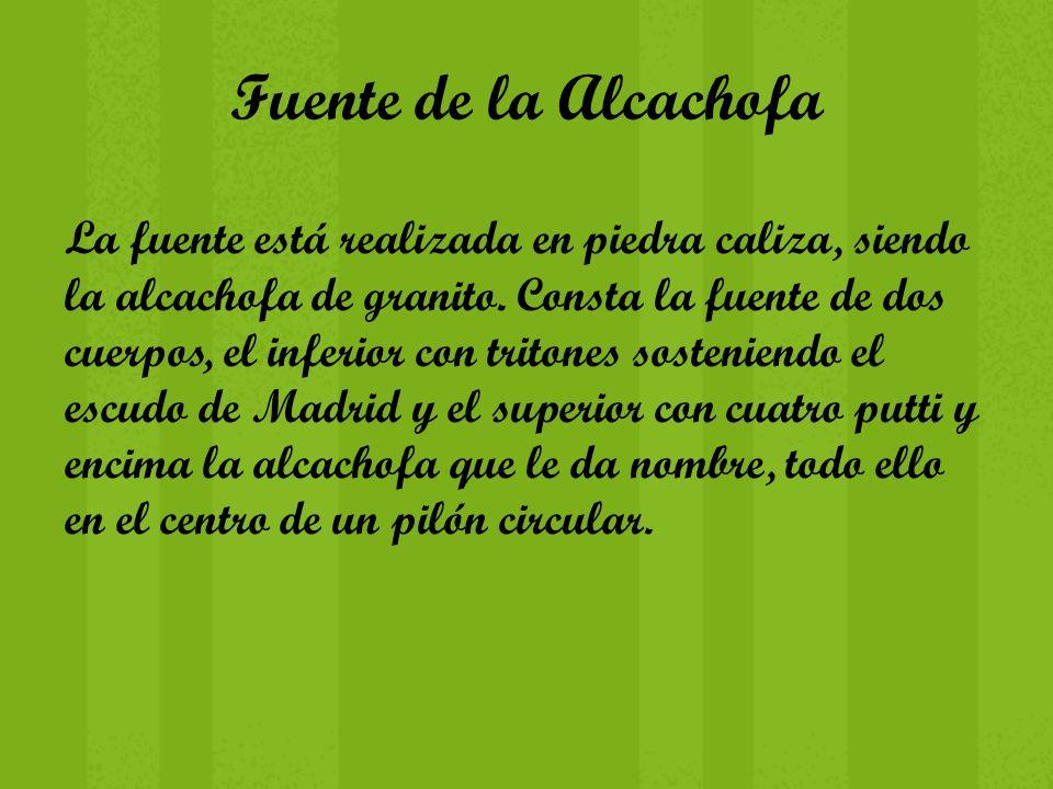 Fuente de la Alcachofa
