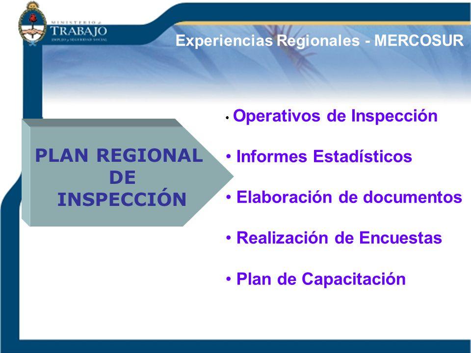 PLAN REGIONAL DE INSPECCIÓN