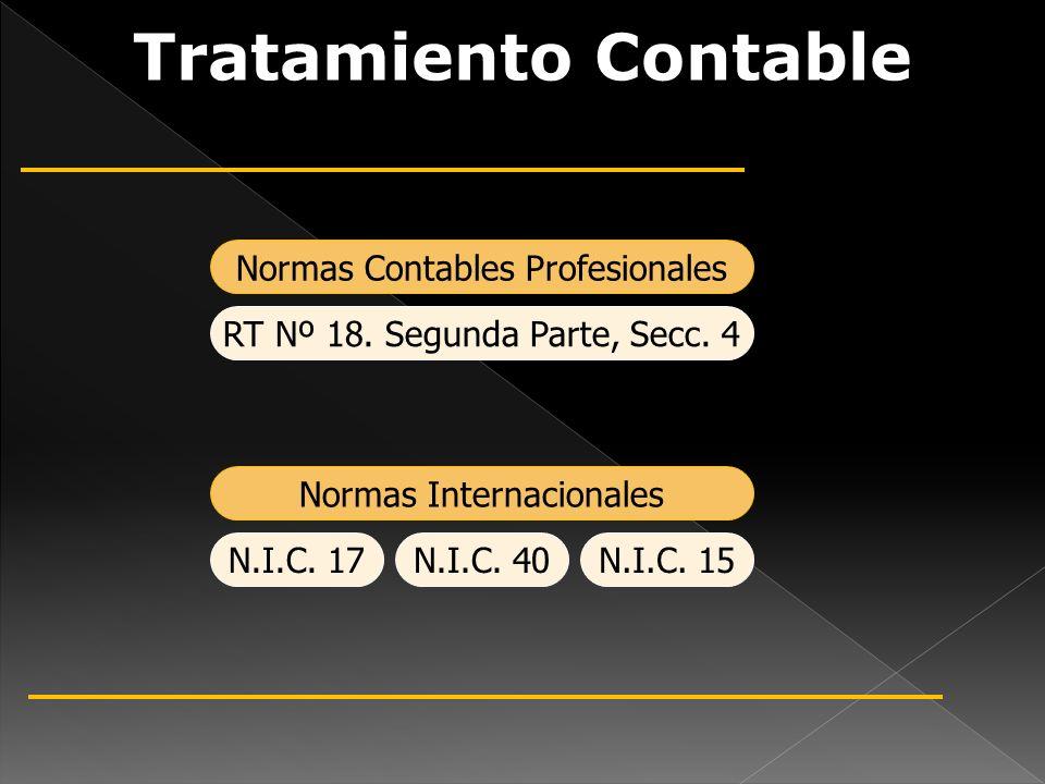 Tratamiento Contable Normas Contables Profesionales