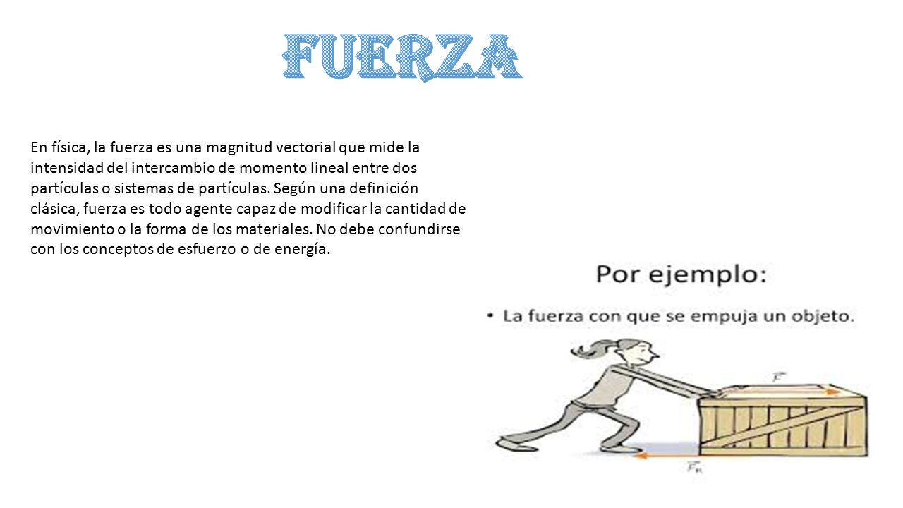 definicion de fuerza fisica pictures to pin on pinterest