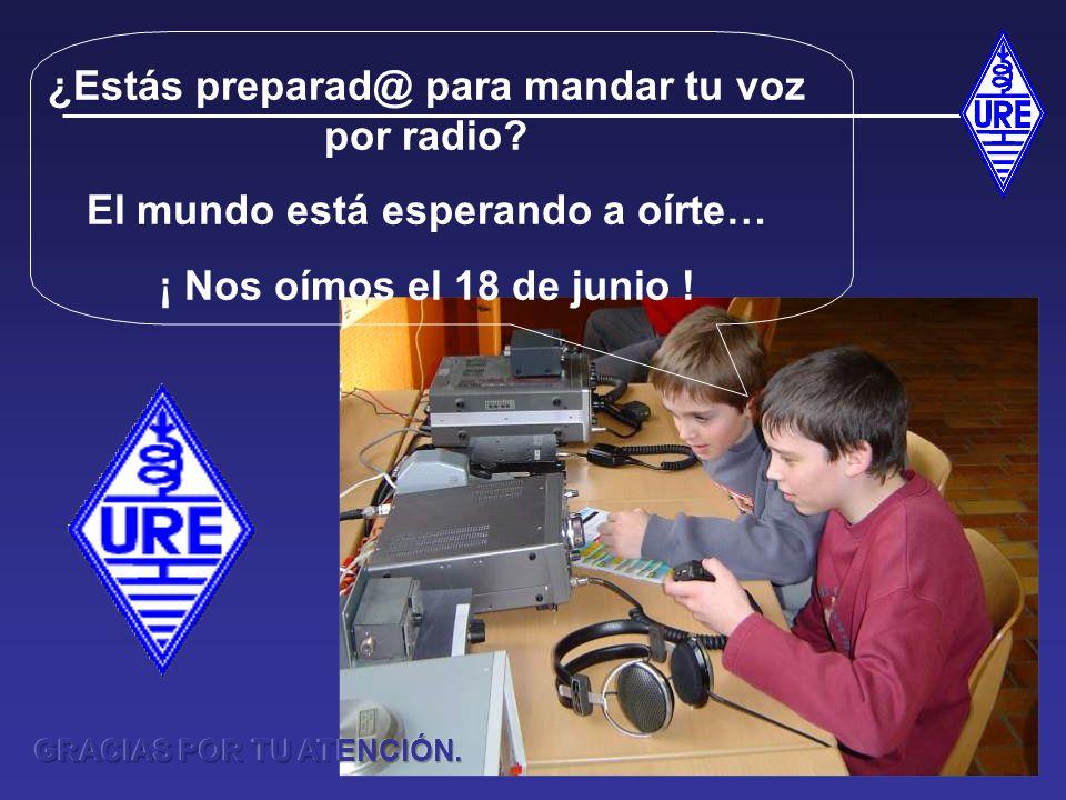¿Estás preparad@ para mandar tu voz por radio